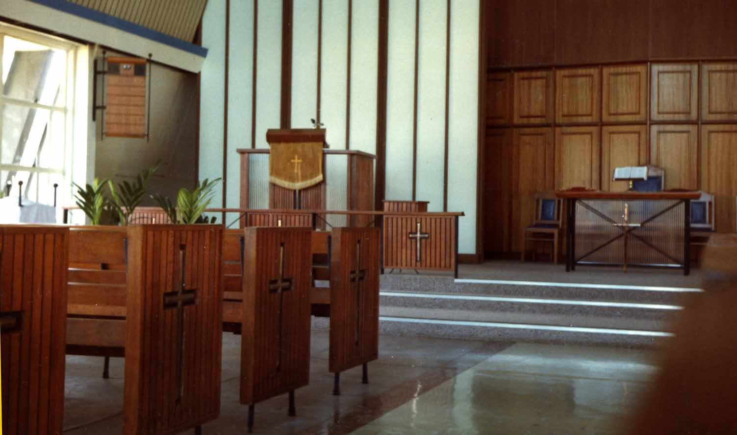 Darwin church  Pic courtesy of Mike Brown