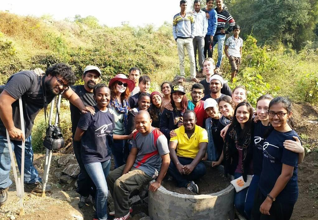 Caux Scholars visit Grampari, Asia Plateau's rural development program at Panchgani, India