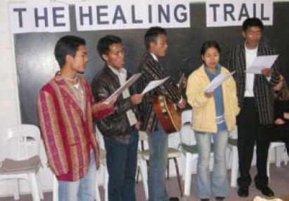 Chin refugees on the healing trail