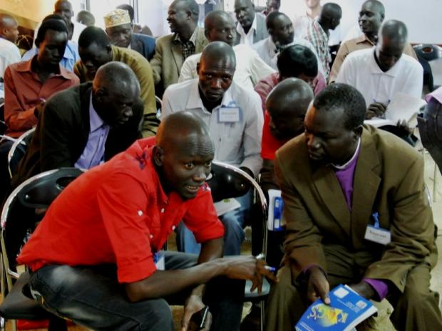 South Sudanese Peace Mobiliser Training