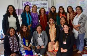 CoP Facilitator training in Kathmandu - March 2017Meena Sharma 3rd from R in front row Shoshana Faire 4th from L in 2nd row