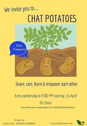 Invitation to 'Chat Potatoes'