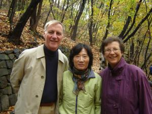 Mike and Jean Brown in Korea