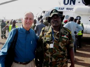 Mike Brown working for peace and reconciliation in South Sudan