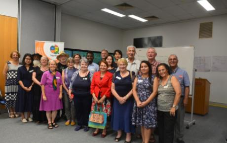 Organisers and participants at the trust-building workshop at Griffith University, Brisbane, on 14 December 2019, organised by IofC Australia with partner organisation Together for Humanity and co-host BEMAC.