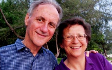 Mike and Jean Brown in Malaysia during Action for Life