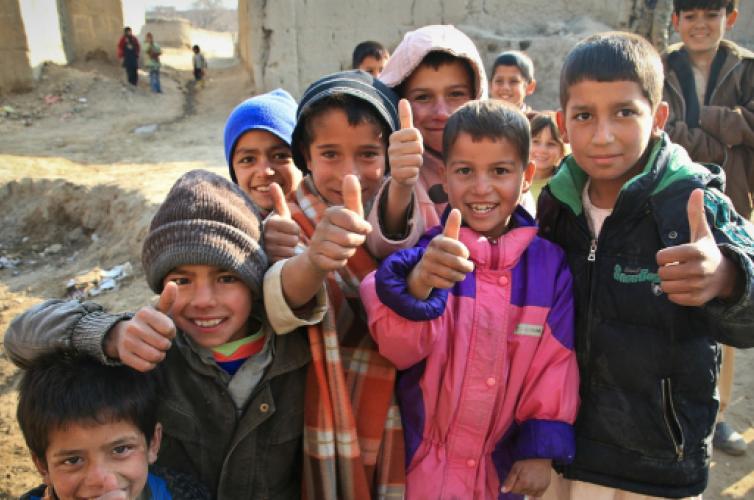 Children in Afghanistan. Image source Pixabay