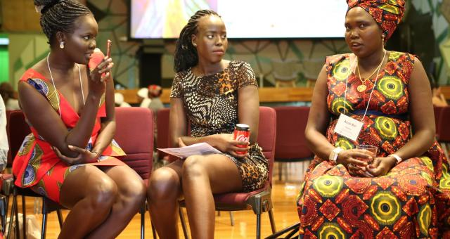 Participants at the South Sudan Women's Conference in Melbourne