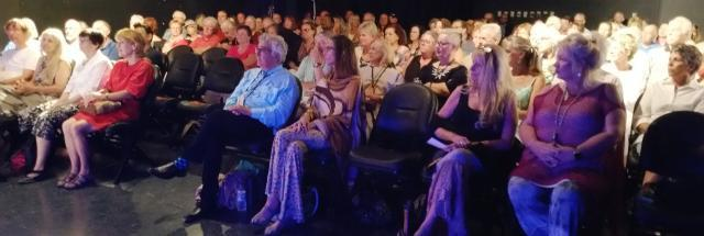 Audience at the screening of The Man Who Built Peace