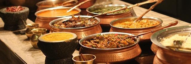 Curry buffet, Pixabay