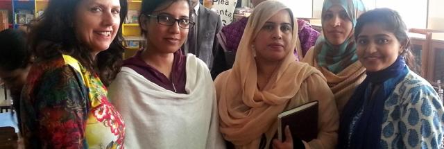 Margaret Hepworth in Lahore