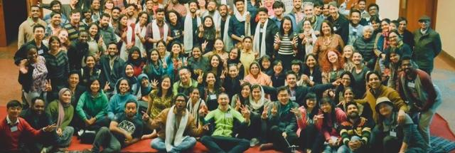 Asia-Pacific Youth Conference (APYC) participants at Panchgani, December 2017-January 2018 conference