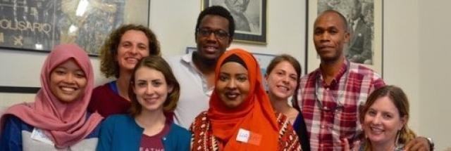 Creators of Peace circle at Sydney University