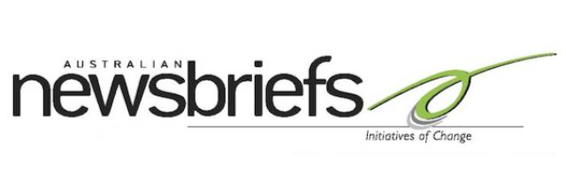 Get the bi-monthly newsletter of IofC Australia