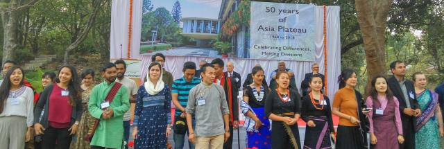 Opening ceremony of Asia Plateau 50th anniversary