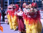 Lion Dancers at the Parliament of the World's Religions, Melbourne, December 2009