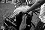 Man in wheelchair. Stock image from Pixabay.