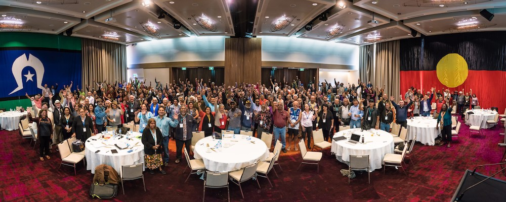 Participants at the Uluru National Conference 2017.